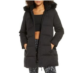 Sweaty Betty North Pole Parka Jacket Black Large